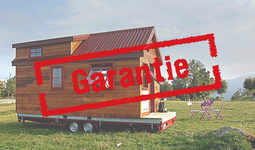 Garanties tiny house concept