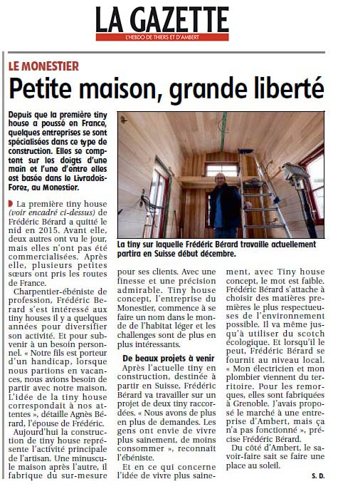 revue de presse tiny house